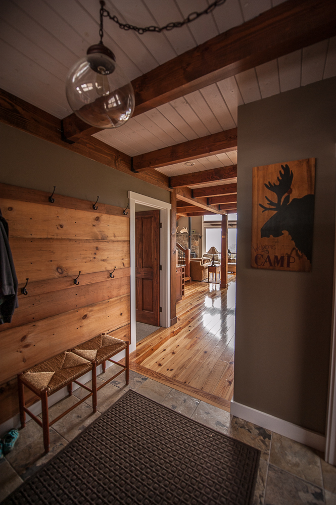 moose ridge lodge – rustic mountain post & beam | northpeak design