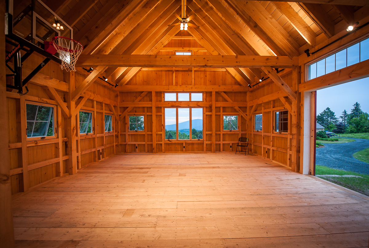 Classic Post Beam Barn Northpeak Design