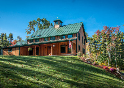 New England Farmhouse – Post & Beam